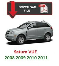 New listing Saturn Vue 2008 2009 2010 2011 Factory Service Repair Workshop Manual .