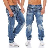 CIPO & BAXX - C-1061 - Regular Fit - dicke Naht - Men / Herren Jeans Hose
