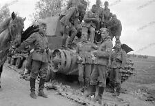 Russland-1942-Panzer-Artillerie-Regiment 16 (mot.)-Beutepanzer-Wehrmacht-Tank-7