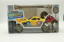 M&Ms 2006 Under The Hood Yellow Racing Car Candy Dispenser Limited Edition NIB