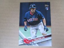 Lot of (10) Card #US142 TZU-WEI LIN Red Sox 2017 Topps Update Rookie cards QTY