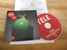 CD POP tele-Mario (1) canzone PROMO carta da parati UNIVERSALE CB presskit