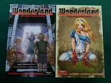 2 comics lot Grimm Fairy Tales Wonderland 2009 Annual The House of Liddle VF/NM+