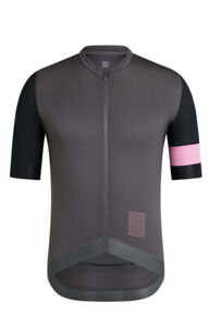 Rapha Cycling Pro Team Training Jersey Pink Carbon Grey Size XL Extra Large RCC