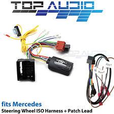 Aerpro CHMC9C for Mercedes Steering wheel control harness adaptor + patch lead
