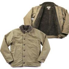 Men's Vintage Coat Navy Deck Suit N1 Flight Jacket Replica Military Outwear Tops