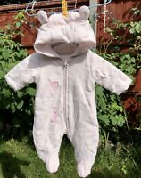 Mothercare New born baby girl clothes All In One Pink  ( Excellent Condition)