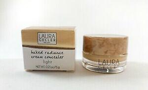 Laura Geller Baked Radiance Cream Concealer - New Boxed 6g Colour Medium