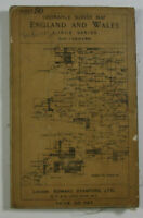 1912 Old Antique OS Ordnance Survey One-Inch Third Edition Map 50 Ffestiniog