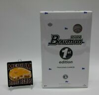 (1) New Topps 2021 Bowman 1st (First) Edition Baseball Hobby Box Factory Sealed