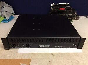 Crest CPX 1500 PA Stereo Amplifier (Power On Tested Only)