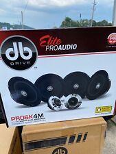 DB DRIVE Elite Pro6k4W 6.5