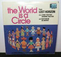 WALT DISNEY THE WORLD IS A CIRCLE (VG) STER-1352 LP VINYL RECORD