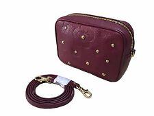 braccialini Women's Leather Camera Bag Evening mini Bag