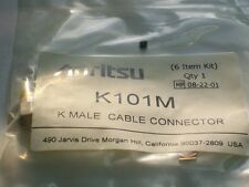 ANRITSU WILTRON K101M K male 2.92 microwave cable connector NEW