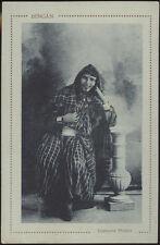 cartolina militare BENGASI costume arabo-arabian woman
