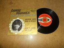 DIONNE WARWICK - ANYONE WHO HAD A HEART - DON'T MAKE ME OVER / LISTEN