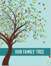 Our Family Tree Journal / Scrapbook Book NEW