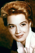 Angie Dickinson 11x17 Mini Poster Lovely Smiling 1950'S Portrait In White Blouse