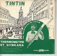 45TRS VINYL 7''/ SWISS EP TINTIN / VAUDOISERIES / DEDICACE