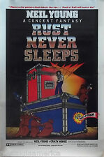 Rust Never Sleeps 27x41 One Sheet Movie Poster 1979 Neil Young & Crazy Horse