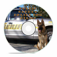 Public Safety Shock Films, Police Dogs In Action, Training Films on DVD J44