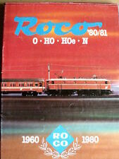 Catalogo ROCO 1980-81 scala 0 - H0 - N - ITA - Tr.11