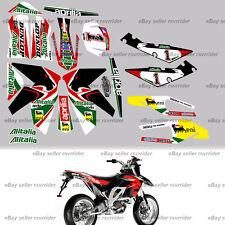 Alitalia race decal sticker kit for aprilia sxv rxv motorcycle