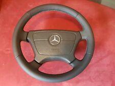 Lenkrad Mercedes C E Klasse W210 W202 Lederlenkrad Neu Bezogen Leder