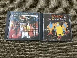 2 ALBUM CD QUEEN LIVE MAGIC + A KING OF MAGIC (ONE VISION/BOHEMIAN RHAPSODY)
