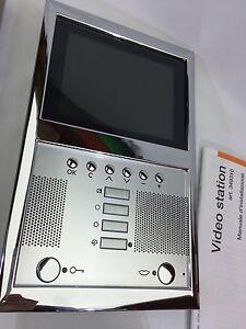 Bticino Terraneo 2 Wire Colour Video Handsfree Internal Unit Axolute SCS 2 fili