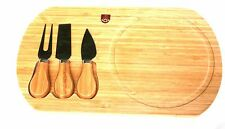 Duke of Wellington Regiment Cheese Board & Cheese Knives Military BGK41