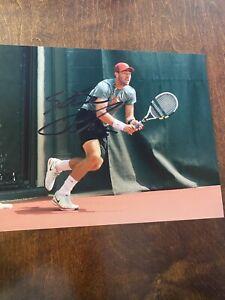 Steve Johnson signed photo Tennis Player ATP Autograph Stevie USC TROJANS AUTO