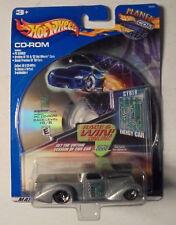 Hot Wheels CD ROM, Cyber Energy Car 1:64 Scale Die Cast Vehicle 2001 MIP