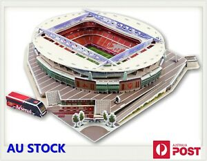 3D Jigsaw Puzzle  Football Soccer Stadium Fields Self Assembled Building Toy Kit