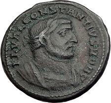 CONSTANTIUS I Chlorus 296AD Rare Londinium London Mint Ancient Roman Coin i63963
