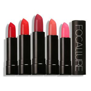 12 Waterproof Lasting Velvet Lipstick Moisturize Focallure Crayon Smooth Matte