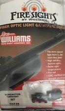Williams Fiber Optic Fire Sights 56530 Remington All Shotgun Pre 2003 Rifles