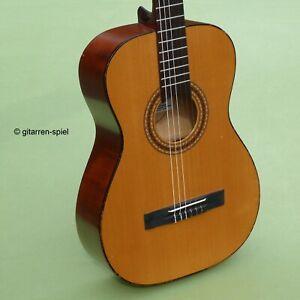 Sonderpreis! 7/8 Wander-Gitarre Ostertag Fichte Ahorn Sattel 45,5 mm Mensur 62!