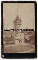 CDV KAB Photo Foto Mutterturm um 1900 Landsberg am Lech 10,4 x 6,4 cm Fotografie