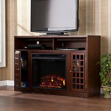 Southern Enterprises Narita Media Electric Fireplace, Espresso FE9301 New