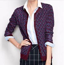 Lands End 445890 Supima Pocket Cardigan Sweater PLUS SIZE 3X 24W-26W Brandywine