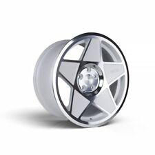 4x 3SDM 18x9.5 0.05 5x112 White Cut et40 | Buy 3 Get 1 Free (25%)
