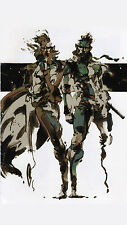 Metal Gear Solid Snake Rising v the Phantom Pain Game Art Silk Poster 24x36inch