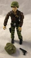 GI Joe Hawk 1986 V2 100% Complete Action Figure Hasbro ARAH Vintage