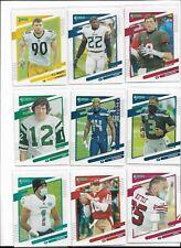2021 Donruss Football No Helmet Photo Variation Pick Your Player Complete Set