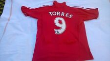 MENS VINTAGE TORRES 9 LIVERPOOL FOOTBALL CLUB HOME SHIRT SIZE L