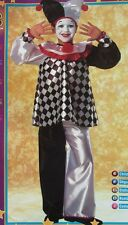 TICKLES THE CLOWN CHILD HALLOWEEN COSTUME BOY'S SIZE MEDIUM 5-7