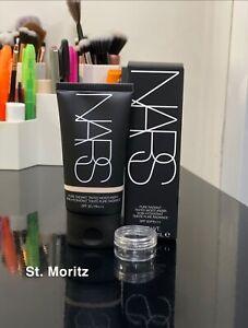 NARS Pure Radiant Tinted Moisturiser Foundation SAMPLE ST. MORITZ 2ml SPF 30