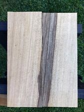 "Quartersawn Korina/Black Limba 2pc unglued set blond color 19-20"" x 7"" x 1.80"""